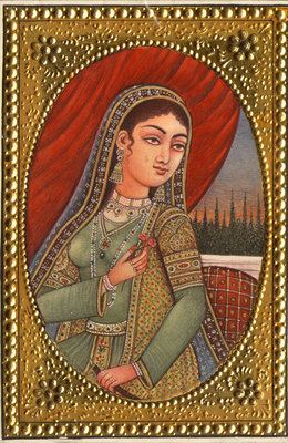 Dilras Banu Begum Empress Rabia Durrani Dilras Banu Begum wife of Aurangzeb Rare