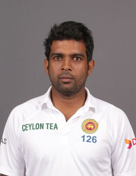 Dilruwan Perera (Cricketer) in the past