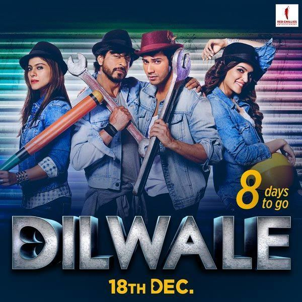 Dilwale new posters out New poster from Dilwale movie Dilwale