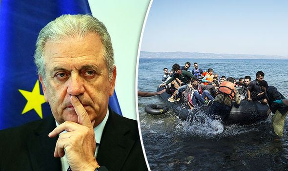 Dimitris Avramopoulos More than 16000 migrants moved from Greece Italy Dimitris