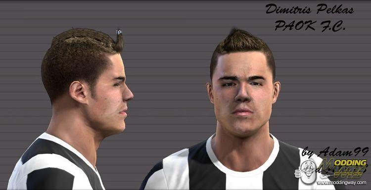 Dimitris Pelkas Dimitris Pelkas PAOK FC Pro Evolution Soccer 2012