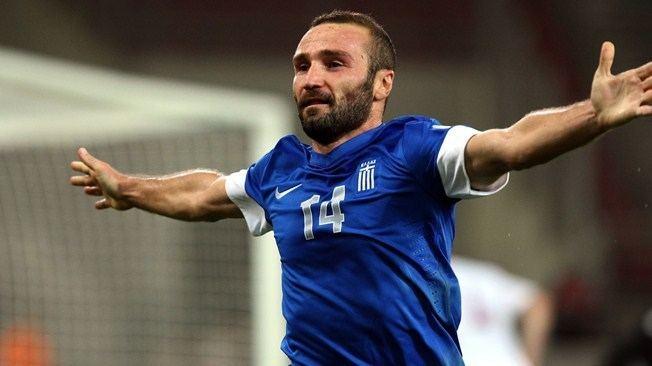 Dimitris Salpingidis Salpingidis savouring role as Greek hero FIFAcom