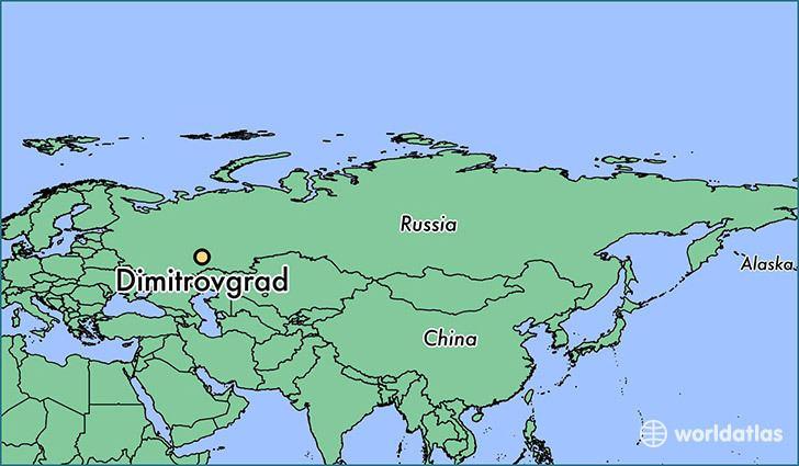 Dimitrovgrad, Russia Where is Dimitrovgrad Russia Where is Dimitrovgrad Russia