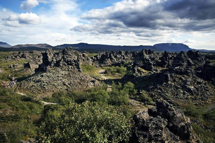 Dimmuborgir Dimmuborgir extraordinary lava field and rock formations