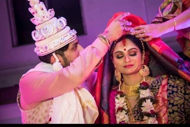 Dimpy Ganguli UNSEEN PICS from Dimpy Ganguly39s fairy tale WEDDING are absolutely