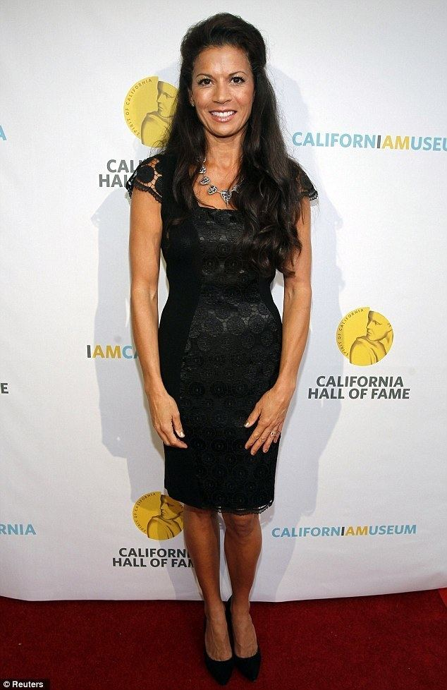 Dina Eastwood Dina Eastwood attends event without husband Clint after it