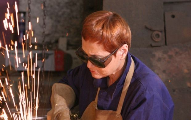Dina Merhav Turning scrap iron into angels ISRAEL21c