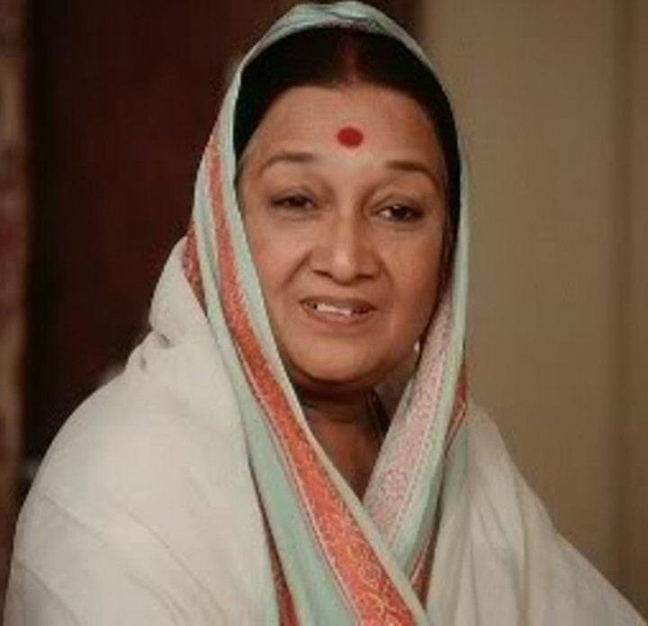 Dina Pathak A veteran actress and director of Gujarati theater quotDina