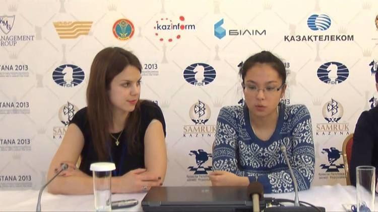 Dinara Saduakassova Interview with Dinara Saduakassova YouTube