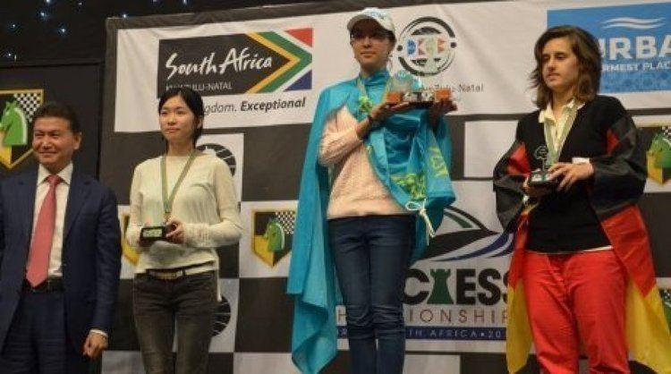Dinara Saduakassova 17 yo Dinara Saduakassova from Kazakhstan wins World Chess