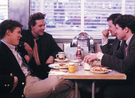 Diner (film) Film Review Diner 1982 Jordan and Eddie The Movie Guys