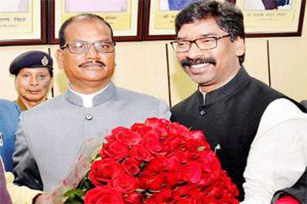 Dinesh Oraon Jharkhand Assembly Speaker Dinesh Oraon announces CM