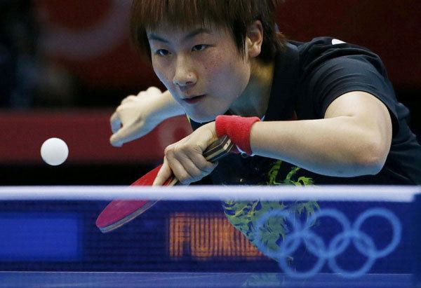 Ding Ning Li Xiaoxia enters table tennis semifinals