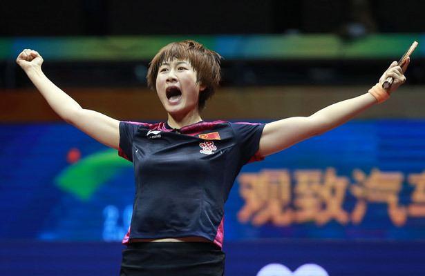 Ding Ning Table Tennis Ding Ning wins Worlds after injury drama