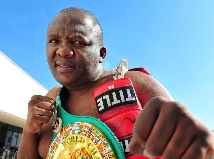 Dingaan Thobela Boxer Dingaan Thobela arrested for dodgy funeral parlour
