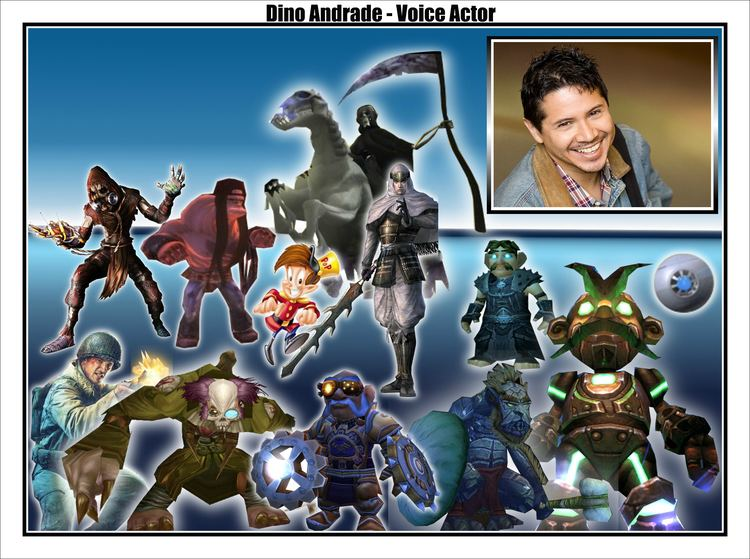 Dino Andrade Dino Andradevoice of many video game characters joins