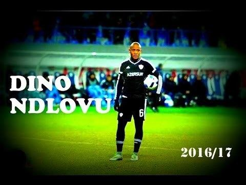 Dino Ndlovu Dino Ndlovu The Tank All Goals Skills Qarabag FK 2016