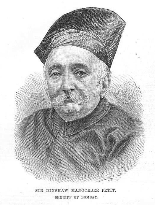 Dinshaw Maneckji Petit Dinshaw Maneckji Petit Sheriff of Bombay Antique Print 1887 eBay