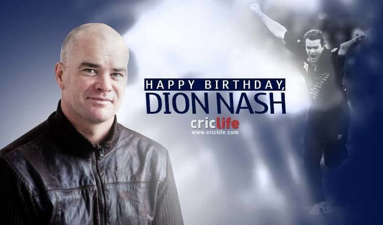 Dion Nash 15 facts about the former New Zealand skipper Cricket