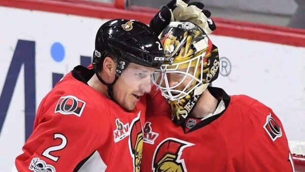 Dion Phaneuf Senators pleased with return from Dion Phaneuf deal NHL on CBC