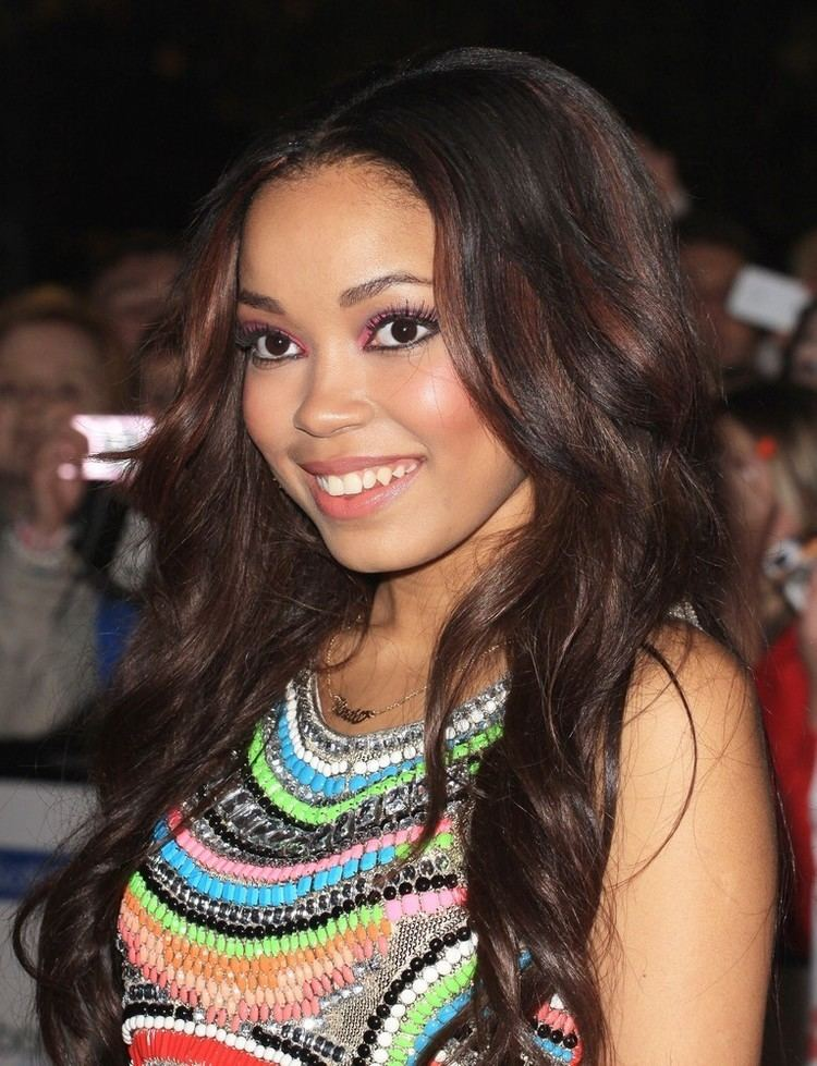 DIONNE BROMFIELD at Hogwarts in the Snow Launch at Warner