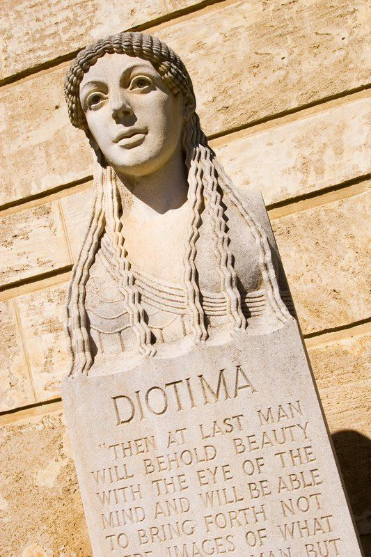 Diotima of Mantinea A dead man fell from the sky Who was the real Diotima