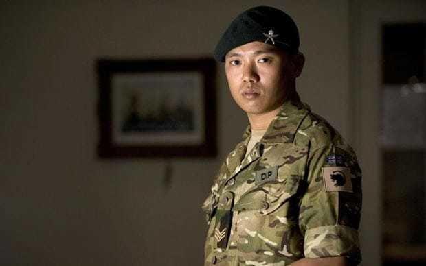Dipprasad Pun Afghanistan Gurkha honoured for lone fight against