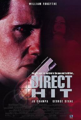 Direct Hit (film) movie poster