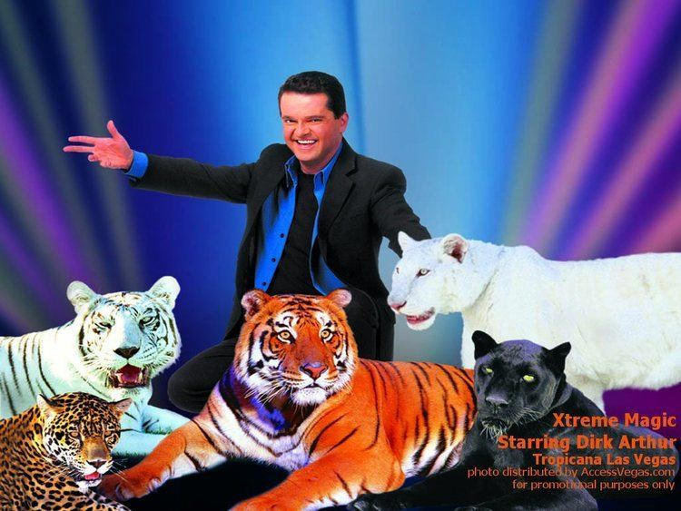 Dirk Arthur Las Vegas Xtreme Magic Dirk Arthur Wallpaper