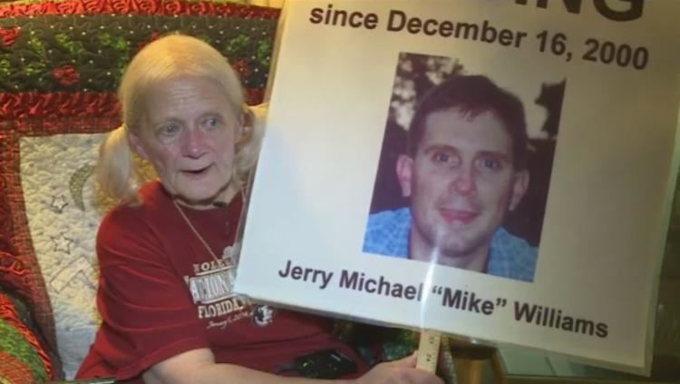 Disappearance of Jerry Michael Williams Fla mans wife may have had a hand in disappearance mom says NY