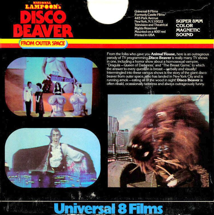 Disco Beaver from Outer Space National Lampoons Disco Beaver from Outer Space HBOs lowest