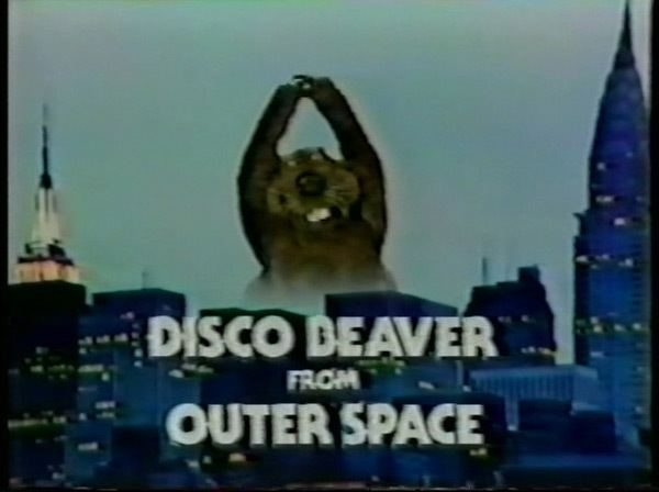 Disco Beaver from Outer Space DISCO BEAVER FROM OUTER SPACE TV 1979 DVD modcinema