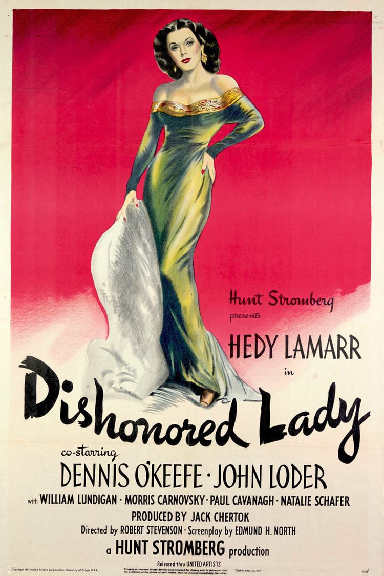 Dishonored Lady wwwgstaticcomtvthumbmovieposters4735p4735p