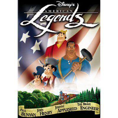 Disney's American Legends Disneys American Legends Disney Movies