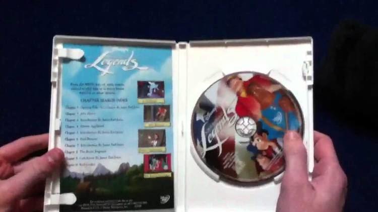 Disney's American Legends Unboxing Disneys American Legends DVD YouTube