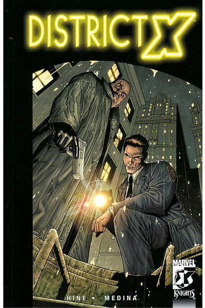 District X Recommended District X by Marvel Comics RSquared Comicz