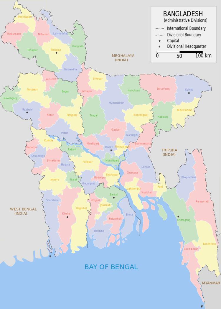Districts of Bangladesh
