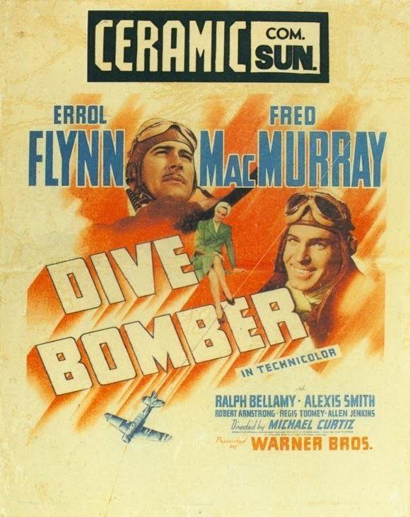 Dive Bomber (film) The Man on the Flying Trapeze Dive Bomber Starring Errol Flynn