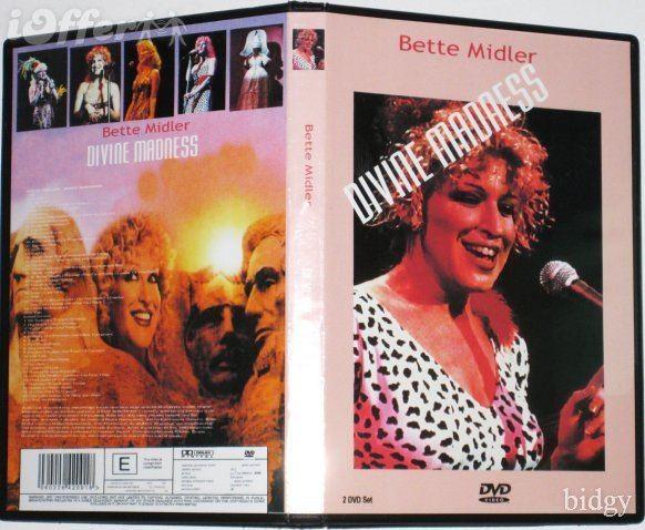 Divine Madness (film) BETTE MIDLER DIVINE MADNESS 3 DVD SET for sale