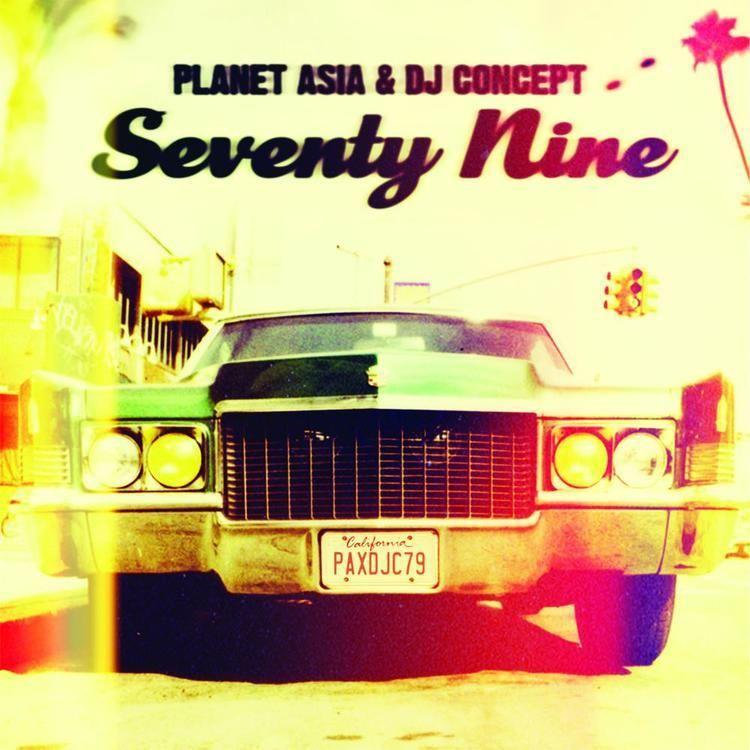 DJ Concept Planet Asia DJ Concept Seventy Nine CD