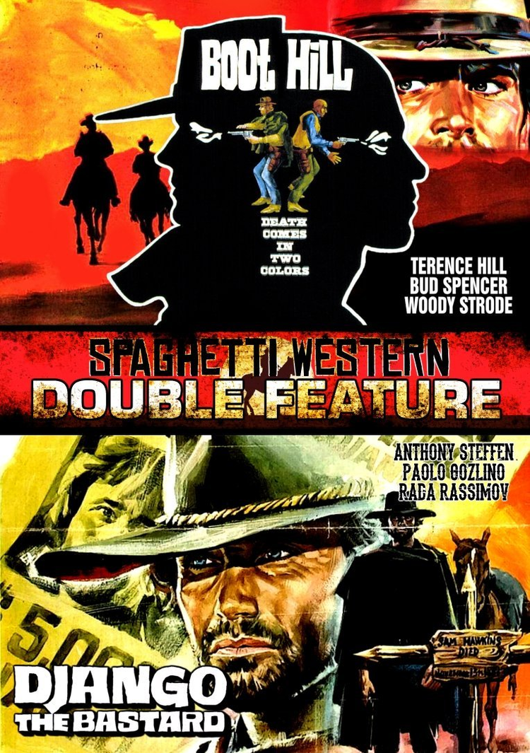 Django the Bastard Django the BastardBoot Hill DVD Double Feature Retrovision DVD