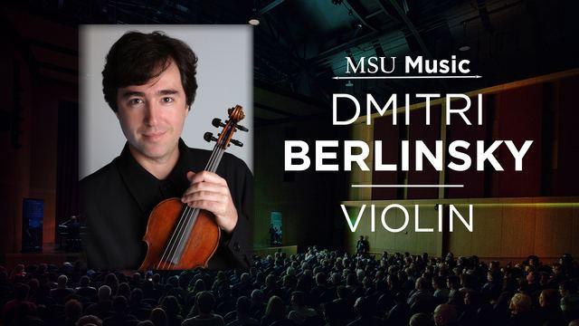 Dmitri Berlinsky 1312017 Dmitri Berlinsky Violin on Livestream