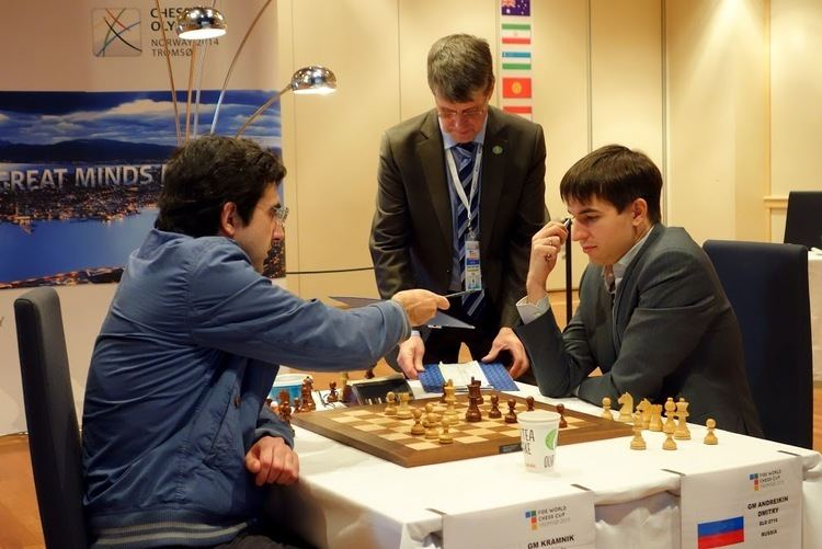 Dmitry Andreikin World Cup Final Game 3 Drawn Chessdom