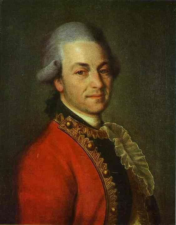 Dmitry Levitzky Portrait of an Unknown Man Dmitry Levitzky WikiArtorg
