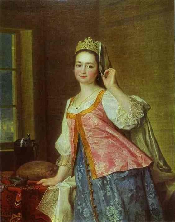 Dmitry Levitzky Portrait of A D Levitzkaya Artist s Daughter Dmitry