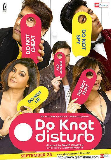 Do Knot Disturb Movie Poster 2 glamshamcom