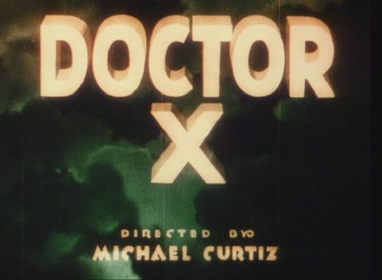 Doctor X (film) movie scenes In Doctor X a serial killer who strangles his victims then cannibalizes their bodies is stalking New York but only during a full moon