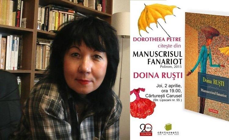 Doina Rusti Manuscrisul fanariot un nou volum de Doina Ruti Ziarul