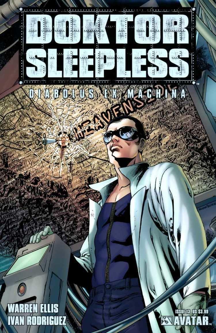 Doktor Sleepless 13 Diabolus Ex Machina Issue