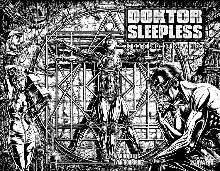 Doktor Sleepless October 2008 Solicited Releases Avatar Press
